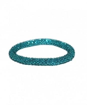 Crochet Glass Bracelet Nepal SB470