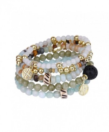 Tom Alice Gemstone Multilayer Light mint - Light-mint(Gold) - CT18698H6L8