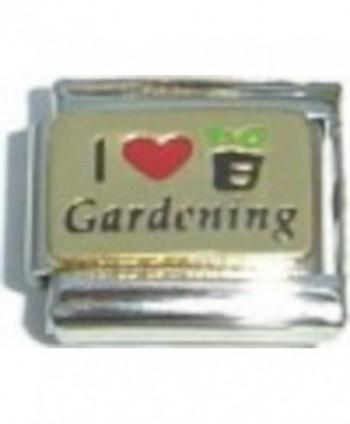 I Love Gardening Italian Charm - C4110OXBVFN