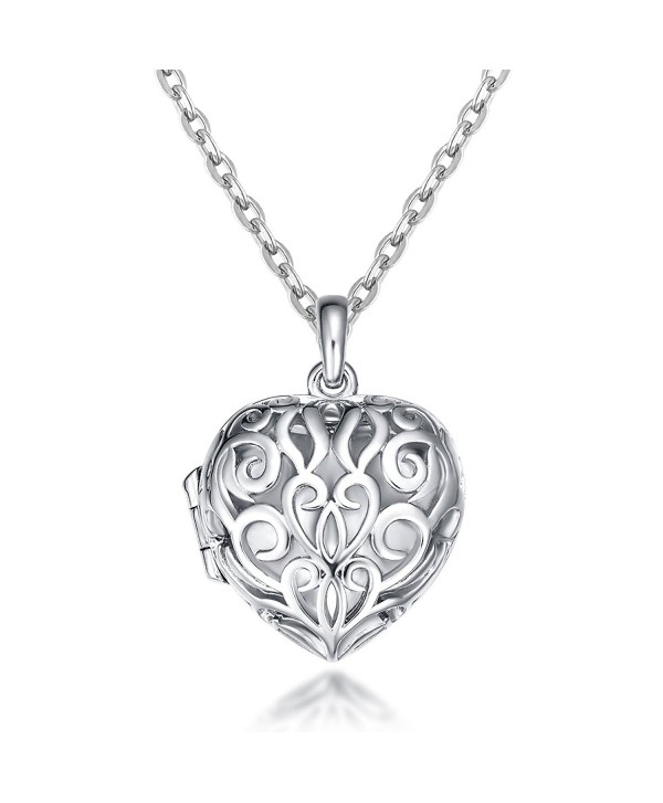 IXIQI 9ct gold plated Locket Neclace Heart Infinity Love Pendant Necklace Gifts For Women Ladies - CC1833ACITL