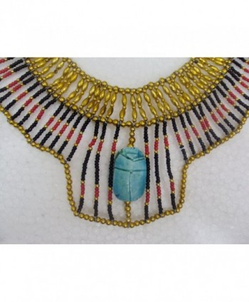 Cleopatra Nefertiti Christmas Halloween Accessory in Women's Chain Necklaces