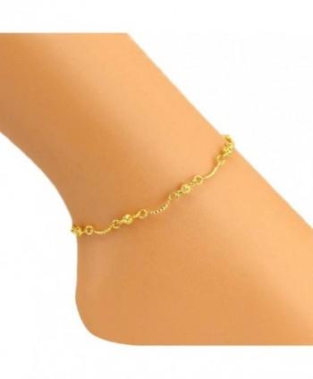 SusenstoneWomen Ankle Bracelet Barefoot Sandal Beach Foot Jewelry - C4125X61JP7