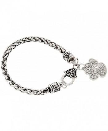 Bracelet Silver Tone Jewelry Keepsake Gift in Women's Charms & Charm Bracelets