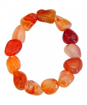 Tumbled Stones Bracelet Carnelian - CL11HP8718V