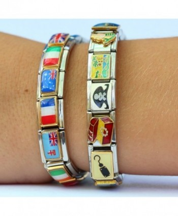 NewCharms CT1154 Football Italian Charm in Women's Charms & Charm Bracelets