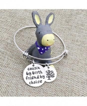 Cousin Bangle Bracelets Friend Pendant