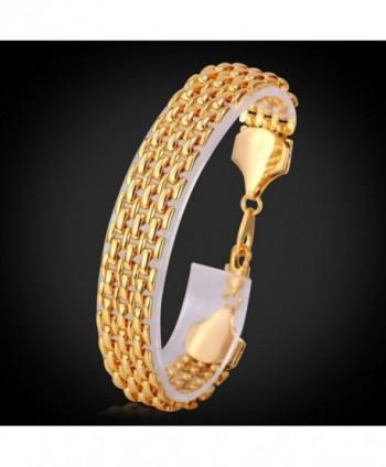 U7 Unisex Bracelet Plated Bracelets in Women's Link Bracelets