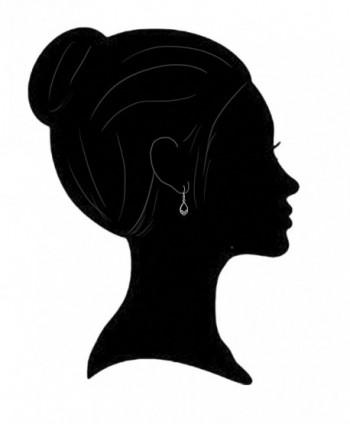 Sterling Silver Celtic Design Earrings in Women's Hoop Earrings