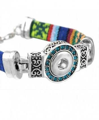 Souarts Silver Rhinestone Bracelet Jewelry