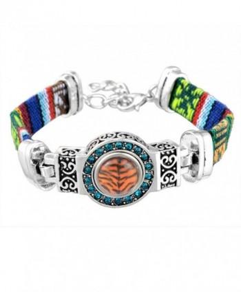 Souarts Silver Rhinestone Bracelet Jewelry in Women's Cuff Bracelets