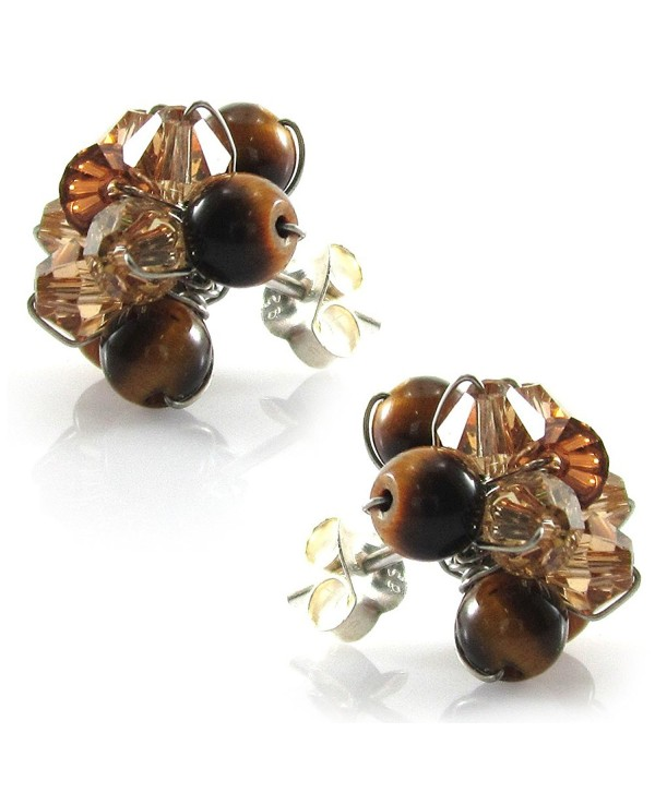 Swarovski Element Earrings Handmade JA 0108E - CJ11DGWQ6LN
