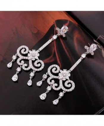 GULICX Austrian Romantic Chandelier Earrings