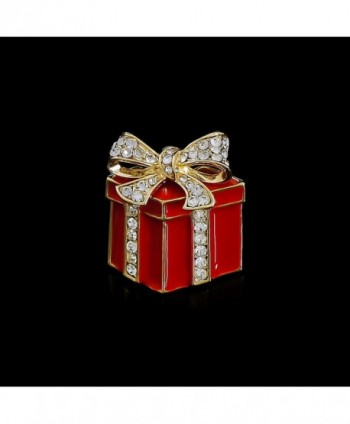 Fashion Jewelry Crystal Bowknot Christmas
