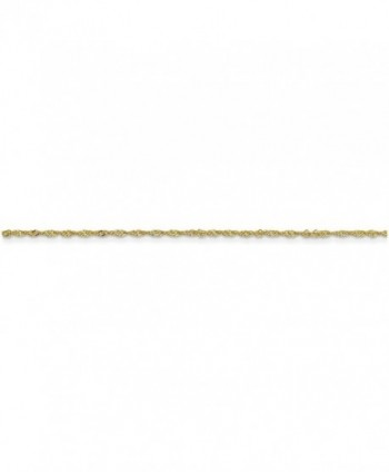 Finejewelers 1 10mm Singapore Necklace Yellow in Women's Chain Necklaces