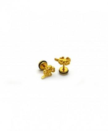Chelsea Jewelry Collections screw back Earrings in Women's Stud Earrings