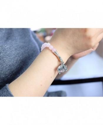 Falari Elephant Natural Bracelet B2448 RQ in Women's Strand Bracelets