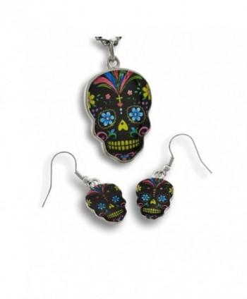 Womens Earring Necklace Earrings Multicolored - CL11GF1KJKB