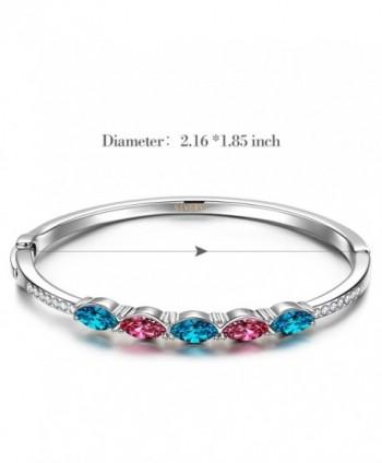 SIVERY Bracelet Swarovski Crystals Jewelry in Women's Bangle Bracelets