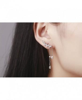 Chicinside Crystal Climbers Dangle Earrings