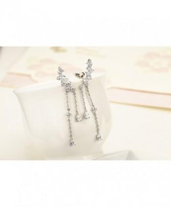 Chicinside Crystal Climbers Dangle Earrings in Women's Cuffs & Wraps Earrings