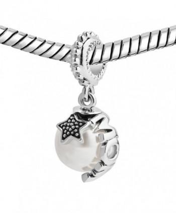 LovelyJewelry Sterling Silver Pentacle Bracelet